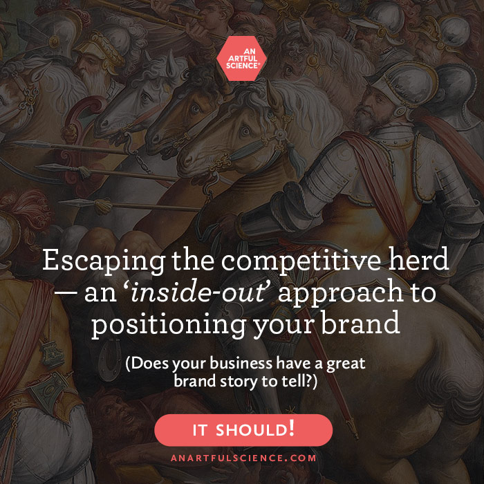 Brand Positioning Strategy — Escaping The Competitive Herd