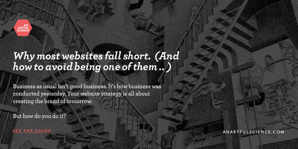 Website Design — Why most websites fall short. (And how to avoid being one of them .. )